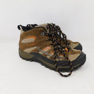 Merrell Youth Hiking Boots Boys 3 Brown